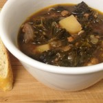 Kale, Chorizo, and Potato Soup