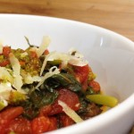 Sauteed Broccoli Rabe with Tomatoes