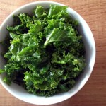 Massaged Raw Kale Salad with Balsamic