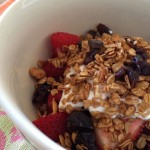 Cherry Chocolate Maple Granola