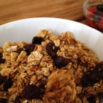 Coconut Almond Granola: Gluten and Dairy Free