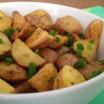 Roasted Baby Potatoes with Fresh Herbs