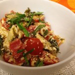 Pasta with Fresh Tomatoes and Kale